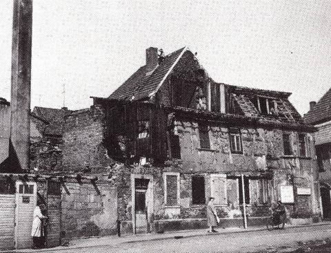 Zehntstraße ca.1945/46