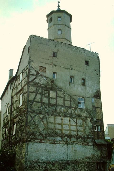 1981 - während der Altstadtsanierung Foto: Rudolf Steiche