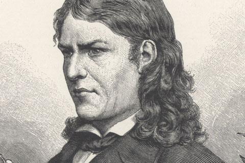 Ausschnitt aus Stich aus dem Jahre 1888