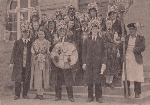 Gochsheimer Trachten in den 1950ern