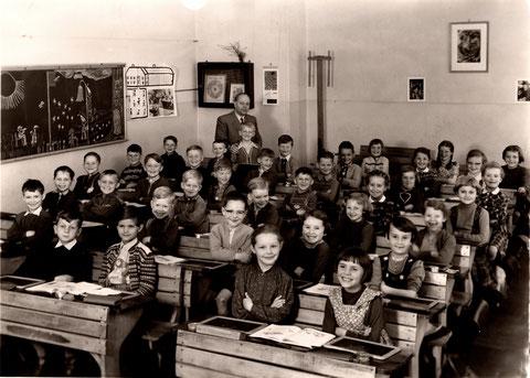 Mai 1956 Ludwigschule - Lehrer: Georg Hofmann (1907 - 2005)