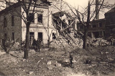 14.10.1943 - nach Bombenangriff