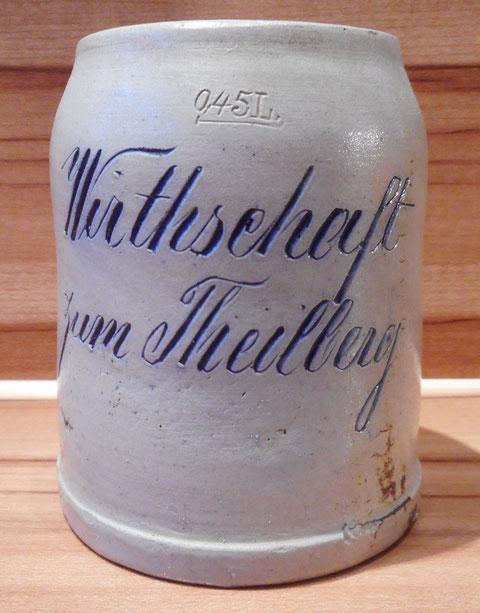 Bierkrug um 1890/1900 - Danke an Herrn Gisbert Zehner