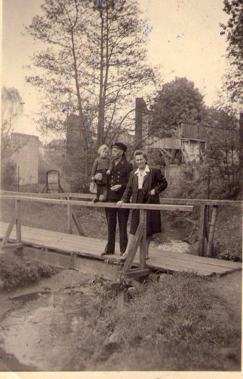 Lenchen und Albert Rauscher 1942 Urlaub
