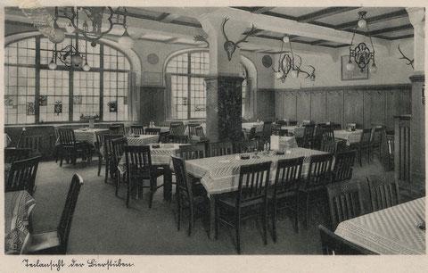 Brückenstraße 28 Münchner Hofbräu  Pächter Michael Schankhart 1929