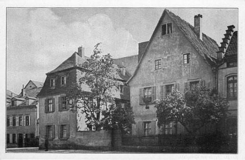 Gunnar-Wester-Haus in den 1920ern