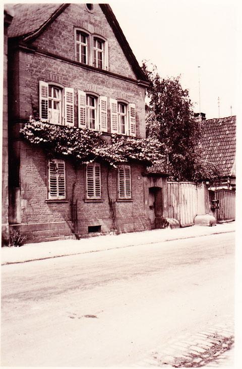 """Haus """"Nöth"""" in der Hauptstraße"""
