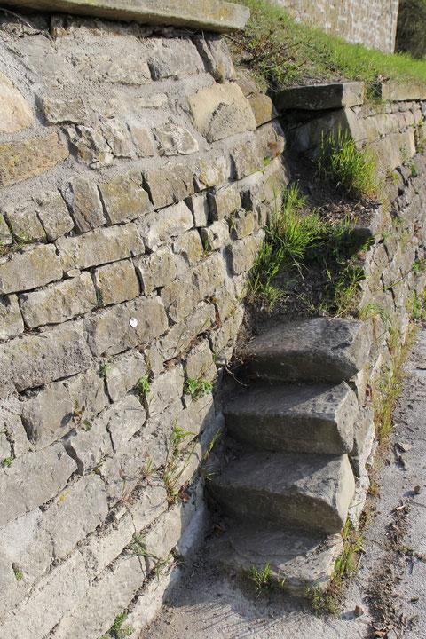 Weiterer Treppenaufgang