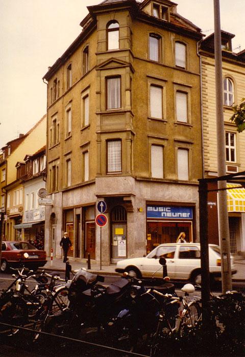 Schultesstraße /Ecke Albrecht-Dürer-Platz 1993