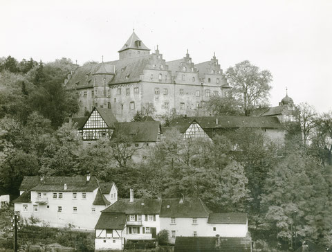 Schloß Mainberg in den 1930ern