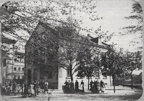 Die Schule im Jahr 1901