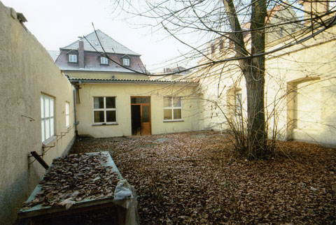 Innenhof vor dem Abriss - Danke an Karl-Heinz Hennig