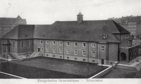 Evangelisches Gemeindehaus 1939
