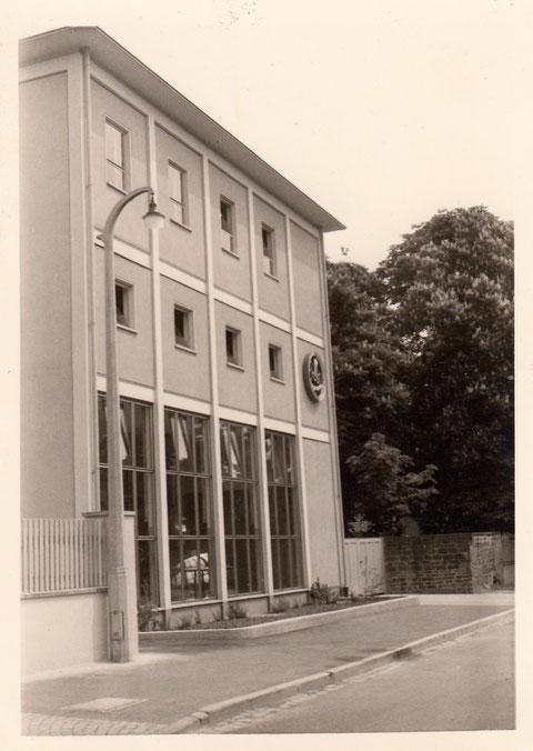 Brauereigebäude in der Gartenstraße - Danke an Karl-Heinz Hruschka