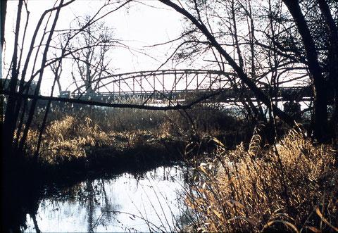 Die Ludwigsbrücke in Schweinfurt - so nicht mehr existent