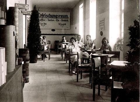 Auch auf der Heimatschau 1934 in Schweinfurt war das Café Lengfeld zusammen mit dem Café Dill vertreten.