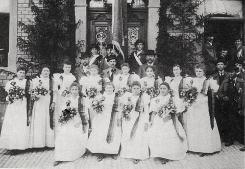 1897 - Fahnenweihe