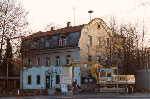 "Foto ""Grüner Baum"" 1995 am Obertor in Schweinfurt"