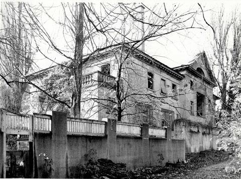 Jägersbrunnen Barthelsvilla vor Abbruch