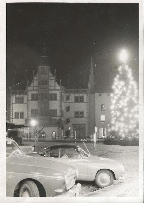 Weihnachten - Anfang der 1960er  Danke an Angelina Friedrich Schweinfurt