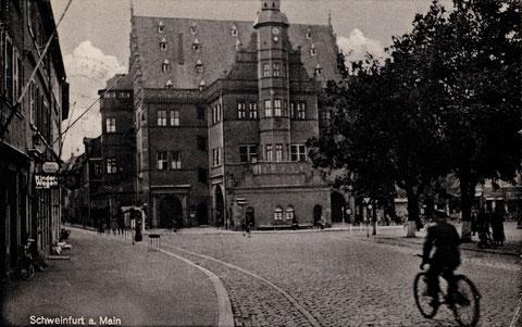 Marktplatz Ende der 1920er