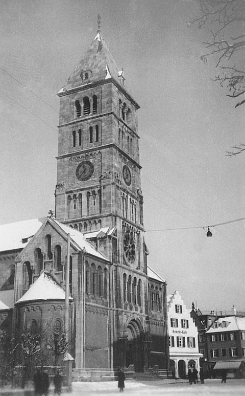 Heilig-Geist-Kirche Schweinfurt 1931 - Danke an Holger Meyer
