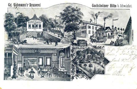 Georg Lohmanns Brauerei 1898