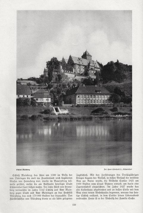"""1936 - aus Beilage zu Zeitschrift """"Das Bayernland"""", April 1936 - bitte vergrößern!"""