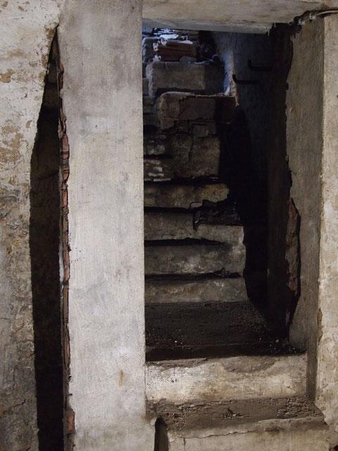 Der Treppenaufgang Richtung Judengasse