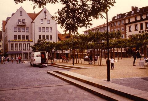 Georg-Wichtermann-Platz Schweinfurt - nach der Neugestaltung