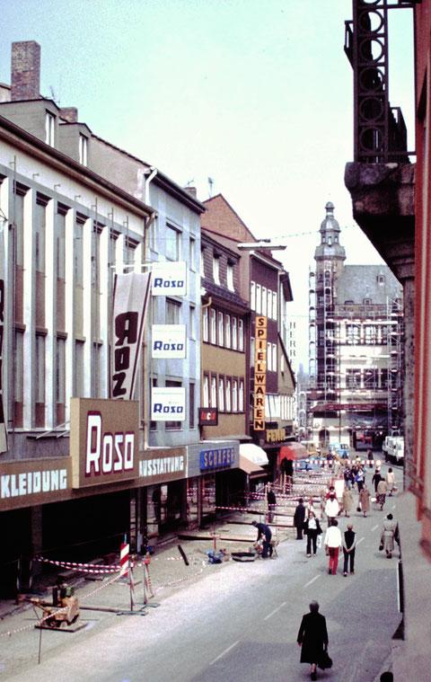 27.3.1981 - Umbau zur Fußgängerzone