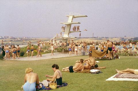 12. Juli 1959 - Im Sommerbad