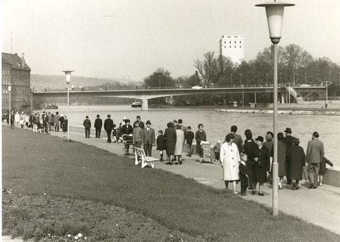 Blick von der Gutermann-Promenade