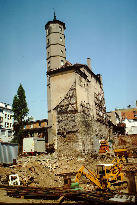 1981 Foto: Rudolf Steiche - während der Altstadtsanierung