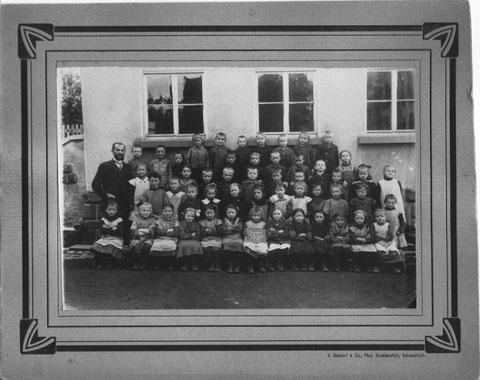 Kath. 3.Kl. Oberndorf 1919 - bitte vergrößern - Herzl. Dank an Hilmar Wehner, Schwebheim