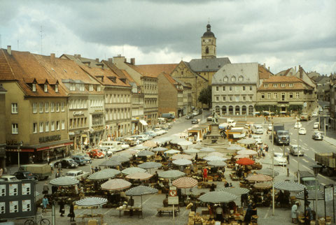 Juni 1966 - Marktplatz