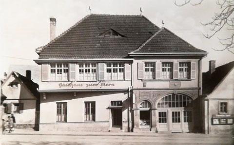 Gasthof Stern in den 1950ern