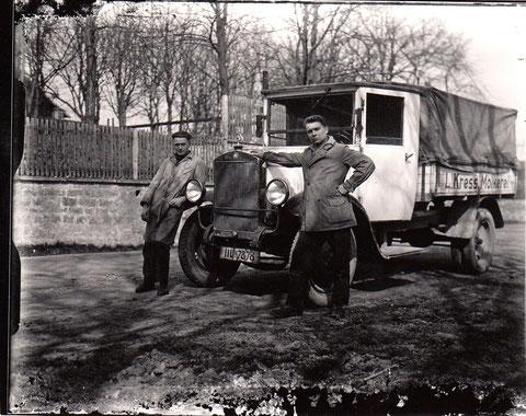 Molkerei Kress Schweinfurt -Fahrzeug- 1942