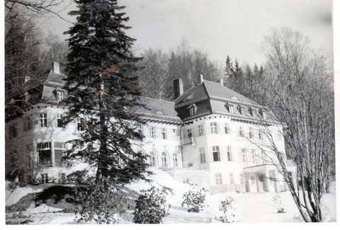 Waldesruh im Winter - ca. 1960