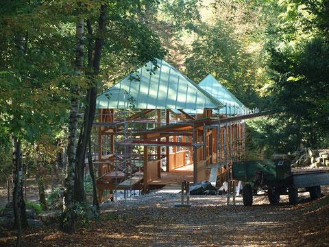 Im Schweinfurter Wildpark - der Eulensteg