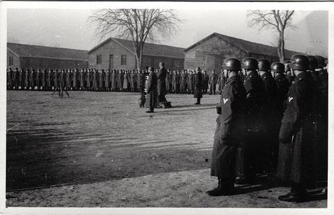 In der Kaserne am 27.02.1943 - Der Major hält eine Ansprache