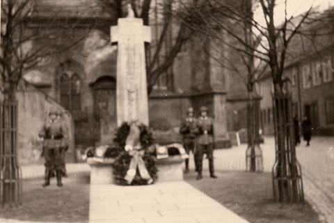 Während des Zweiten Weltkriegs
