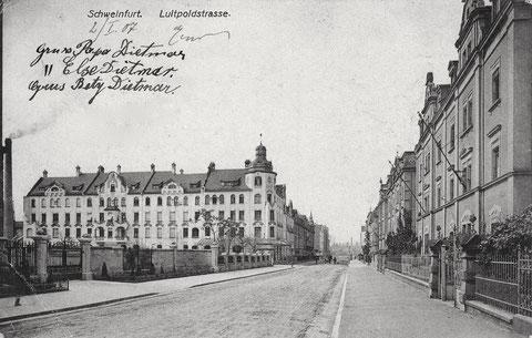 Karte ist 1907 postialisch gelaufen