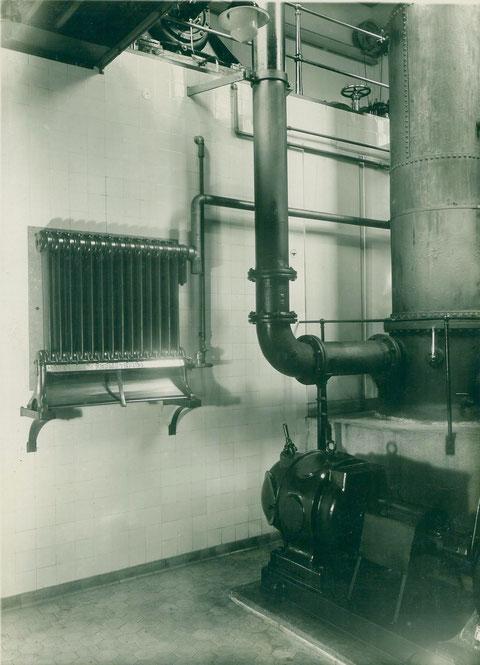 Im Wasserwerk Schweinfurt 1930