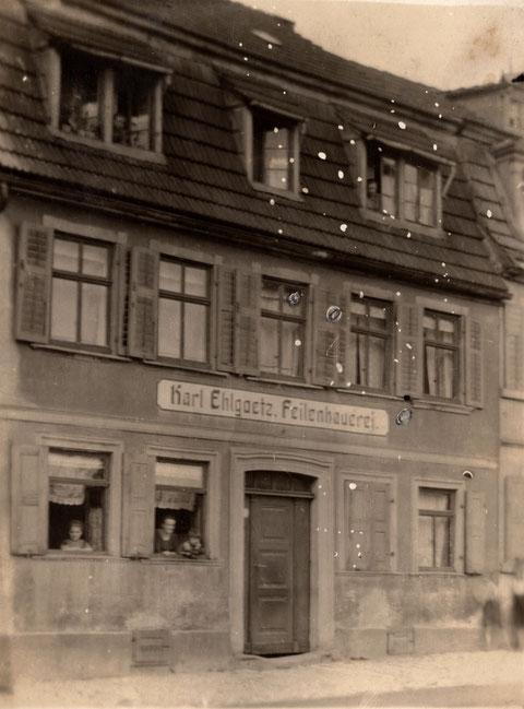 Bauerngasse 37 um 1912/13 Karl Ehlgoetz, Feilenbauer