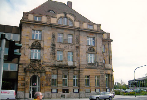 Schultesstraße - Staatsbank-Gebäude