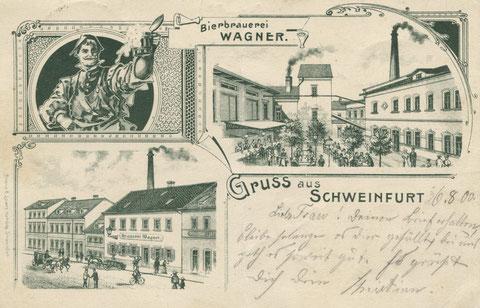 Am Zeughaus 9, Wagnerbräu, 1900