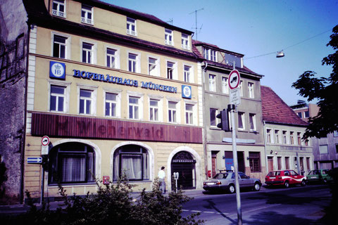 1987 - Haus Wienerwald / Münchner Hofbräuhaus - Danke an Christel Feyh