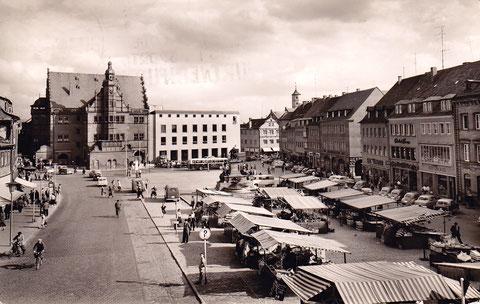 1959 - der Neubau des Rathauses ist fertiggestellt