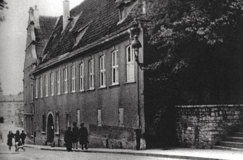 Lebküchnerhaus in der Neutorstraße in den 1930ern